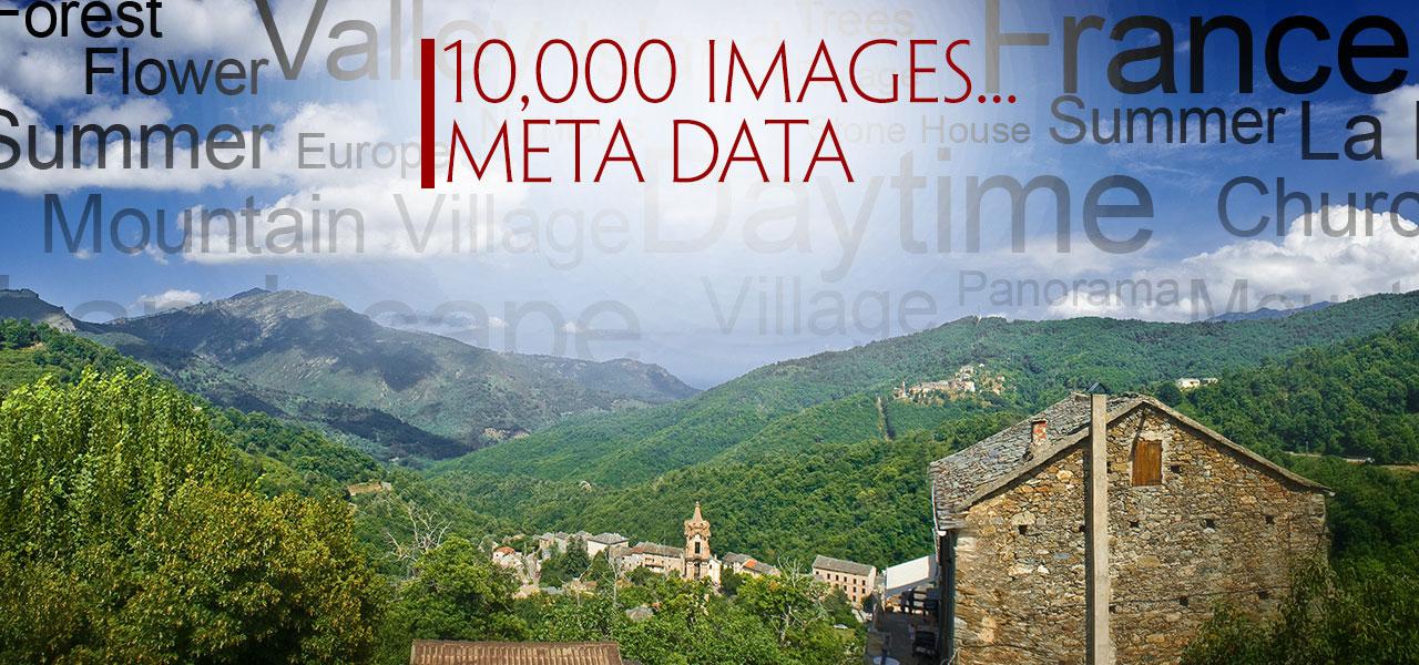 10,000 Images – Metadata