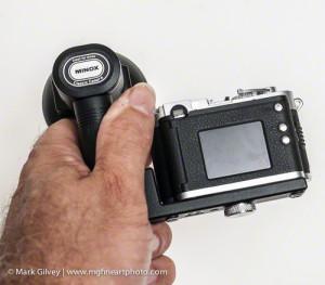DCC Minox Leica M3 with Flash